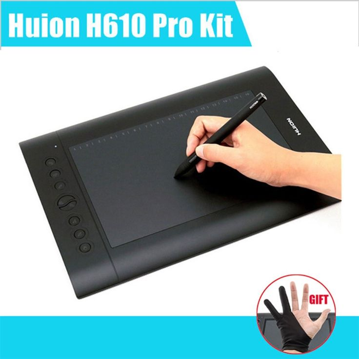 """(69.20$)  Watch here - http://aijhj.worlditems.win/all/product.php?id=32729004060 - """"Huion H610 Pro Art Graphics Drawing Tablet 10""""""""x6.25"""""""" with Rechargeable Digital Pen for Mac and Windows"""""""
