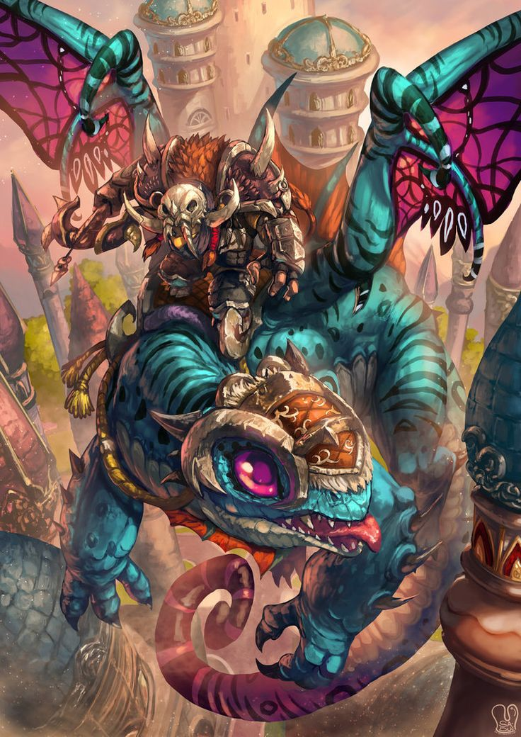 Commission : fan art World of Warcraft by Sa-Dui on DeviantArt