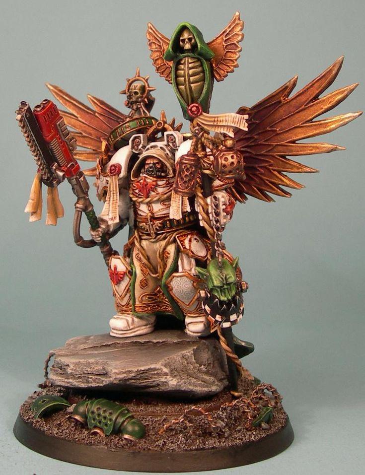 Warhammer 40k, Dark Angels Space Marines - awesome custom ...