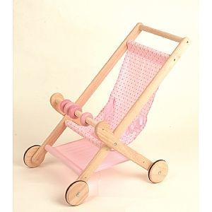 Wooden Doll's Stroller