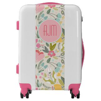 Floral Preppy Pastel Pattern Luggage  Suitcase via: http://www.zazzle.com/floral_preppy_pastel_pattern_luggage-256563033995481860?rf=238731775801296307