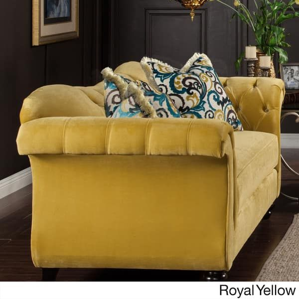Jan 31, 2020 - Furniture of America Agatha Traditional Tufted Loveseat