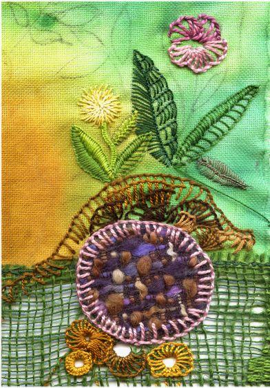 TAST -buttonhole stitch