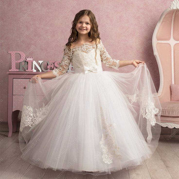 Find More Flower Girl Dresses Information about 2016 Organza Appliques Flower Girls Dress Long Vestido de Daminha First Communion Dresses With Sashes Girls Dresses For Wedding,High Quality dress catalog,China dress model for girl Suppliers, Cheap dresses plus size girls from Galaxy Wedding Dress Co., Ltd. on Aliexpress.com