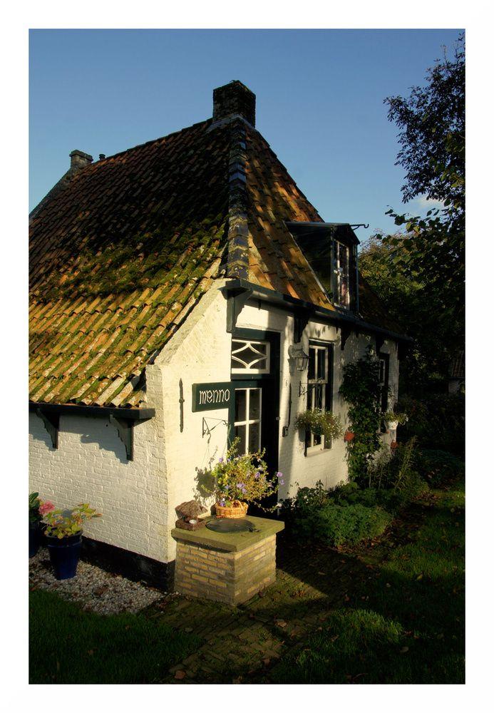 small cute house on ameland holland