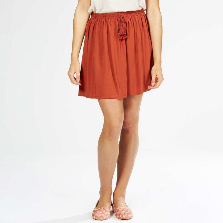 Minifalda corola Mujer - Kiabi - 13,00€