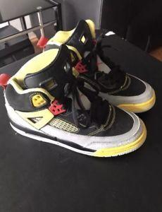 Nike Jordan Spizike GS Big Kids, Black/Red/Silver/Yellow Size 5Y Spike Lee Shoes  | eBay