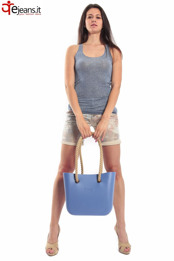 #fullspot o'bag #maryley #shorts #susy mix #azure blue