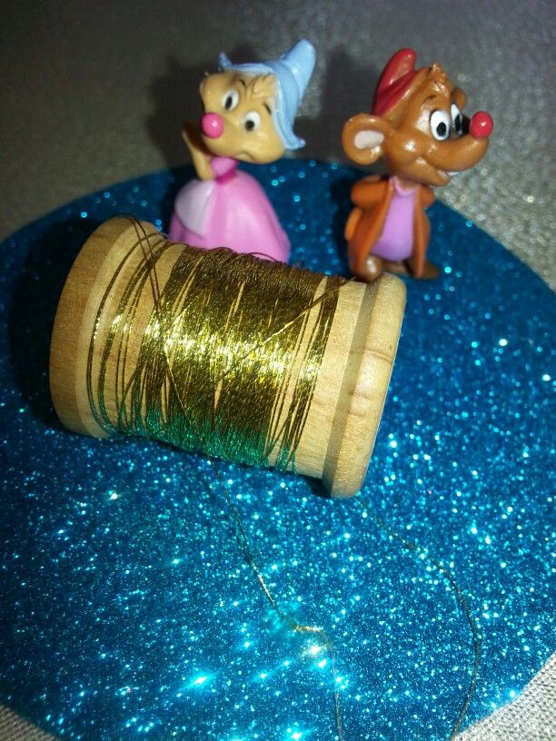 Cinderella's mice friends