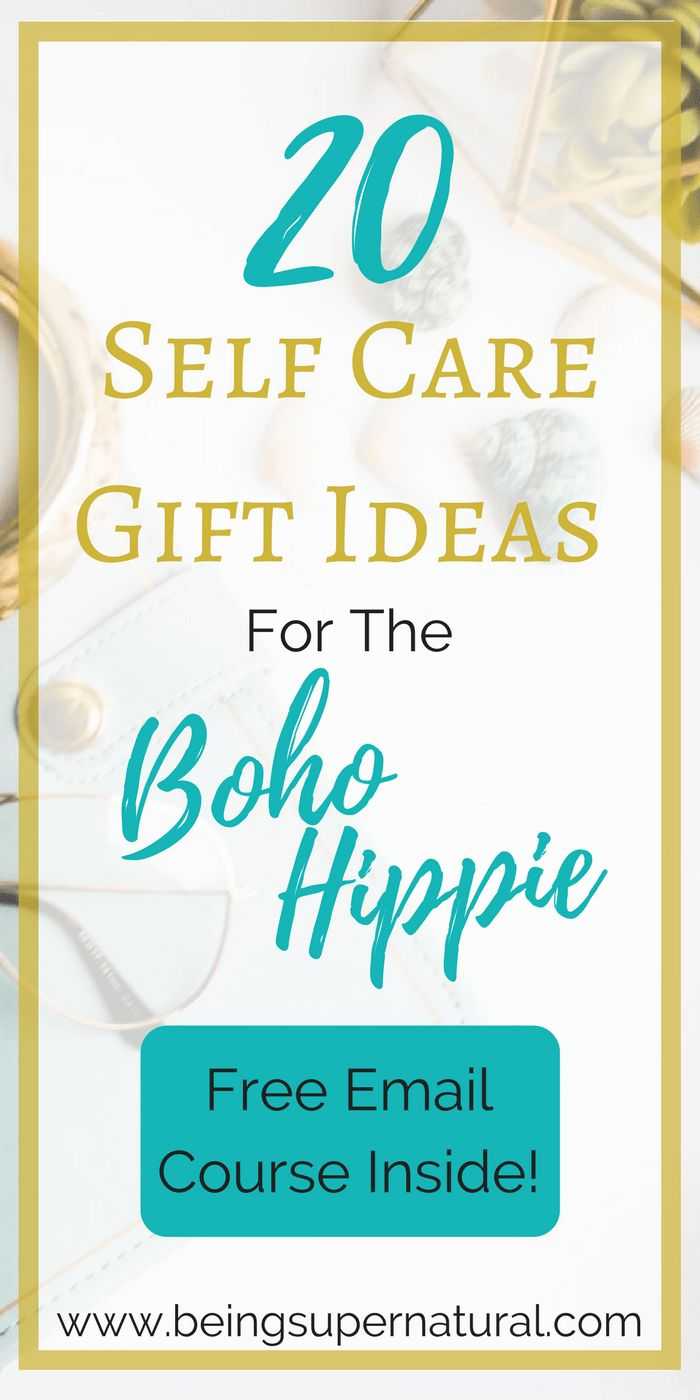 Struggling to figure out a gift idea for your friend that's into bohemian styles? Or maybe you're interested in some self care products for yourself! Check out this list of self care items made with the bohemian in mind. ALSO come get access to your free self love email course!