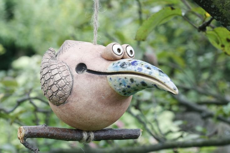 bird on branch     For totems top piece.