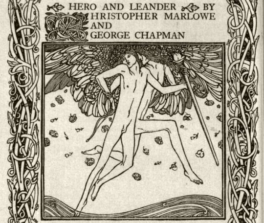 Hero and Leander by Christopher Marlowe – Charles Ricketts