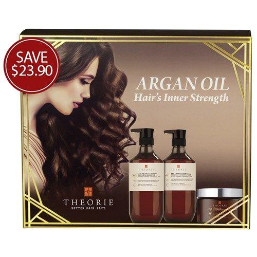 Theorie Argan Oil Hair's Inner Strength Pack   Now only $59.95