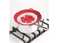 Red 12-in. Kochblume Spill Stopper by Kuhn Rikon