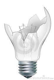 broken light bulb - Google Search