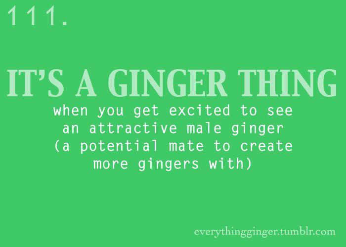 Ginger dating jokes