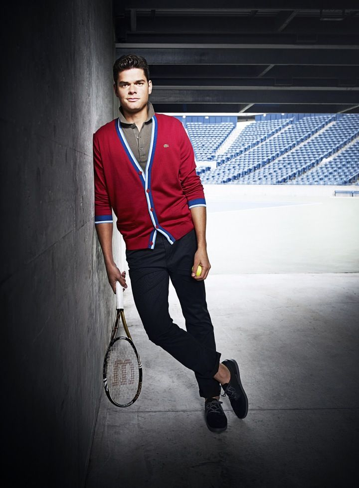 ATP tennis player Milos Raonic