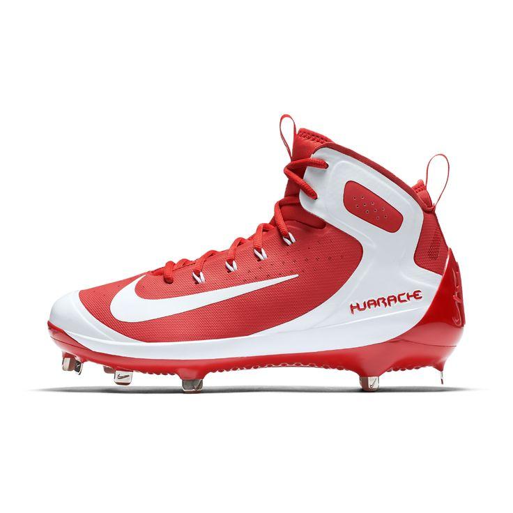 Nike Alpha Huarache Elite Men\u0027s Baseball Cleats Size. Baseball  CleatsHuaracheSize 14NikeRedRouge