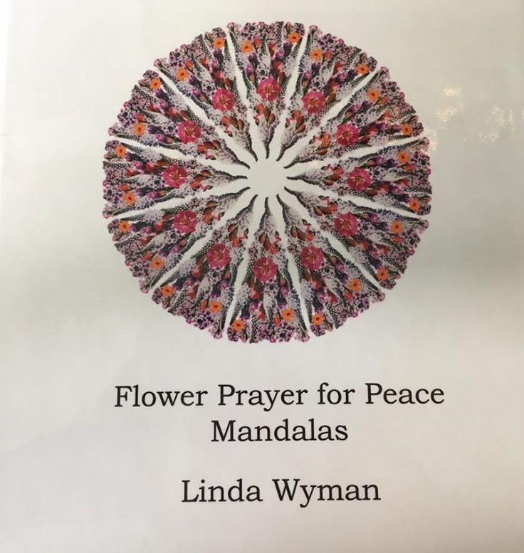 Flower Prayer for Peace Mandala book
