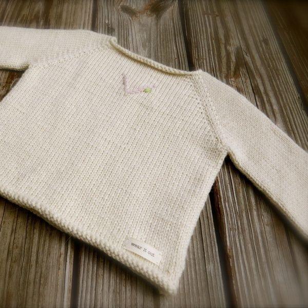 Big Bad Wool V is for Vivi Baby Sweater Knitting Pattern PDF Baby sweater k...