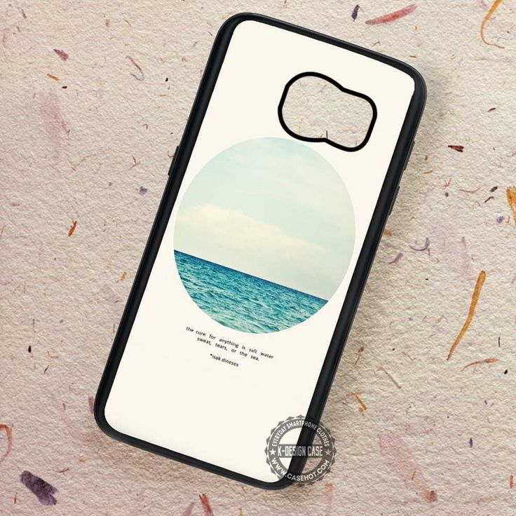 Salt Water Isak Dinese Life Quote - Samsung Galaxy S7 S6 S5 Note 7 Cases & Covers