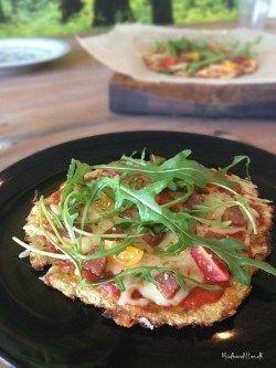 Bedste LCHF-pizzabund - glutenfri, lowcarb blomkålsbund