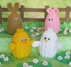 14 best easter knitted eggs images on pinterest knitting patterns easter egg cozies to knit and crochet free patterns grandmothers pattern book negle Gallery