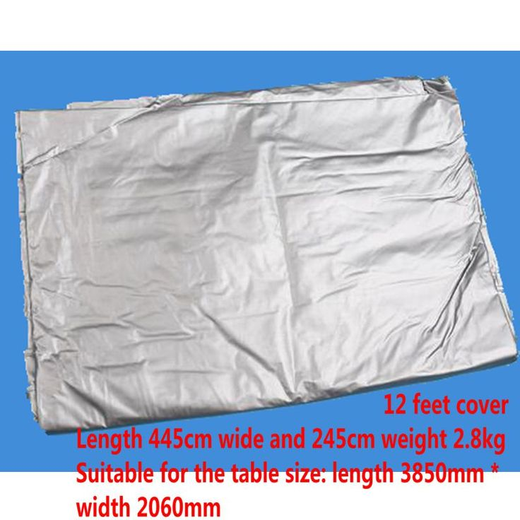 12ft Snooker Table Outdoor Pool Table Cover Nylon Waterproof Table Cover  /Free Shipping