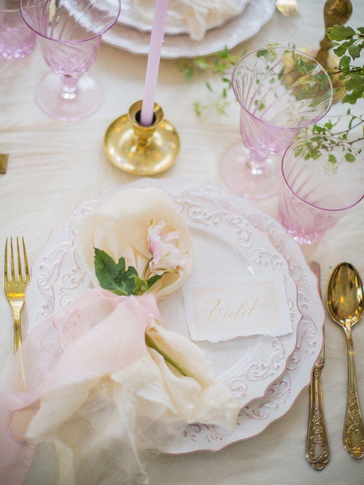 Сервировка свадебного стола l Serving wedding table
