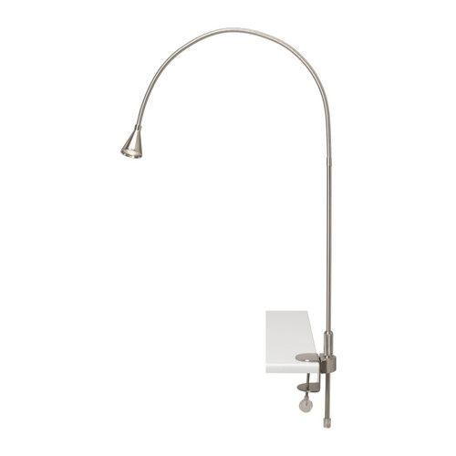 tived led wall clamp spotlight nickel plated spotlight. Black Bedroom Furniture Sets. Home Design Ideas