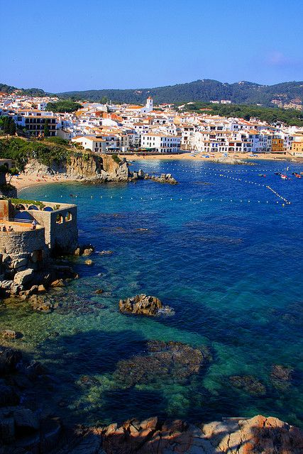 Clear Cool Blue - Costa Brava, Gerona, Spain