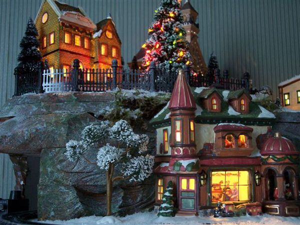 christmas village displays | Hot Wire Foam Factory - Christmas Village
