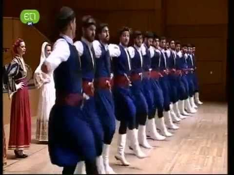 Pentozali is a very ancient war dance and in the past it was danced only by men. Now it is danced by women too. Its origin is from the ancient war dance, the...