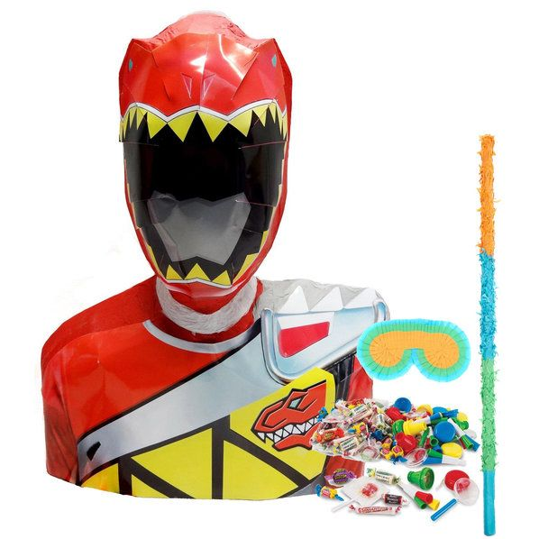 Check out Power Rangers Dino Charge Pinata Kit from Wholesale Party Supplies