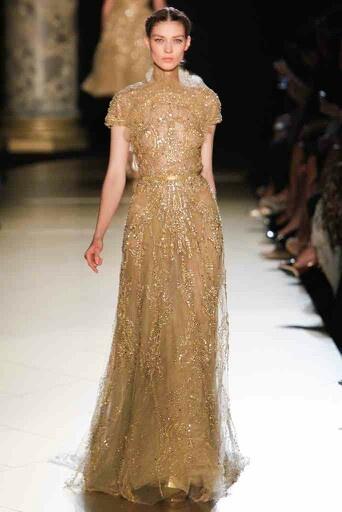 Pretty in gold - Ellie Saab