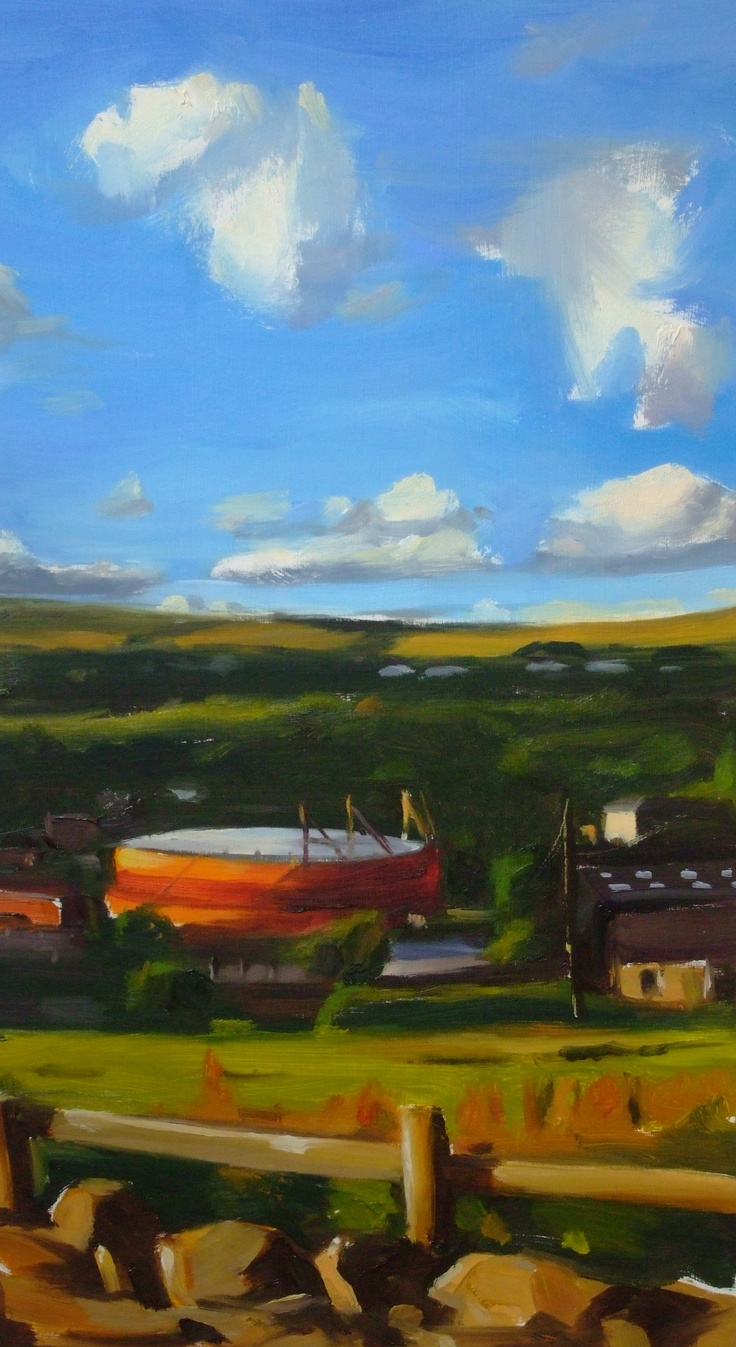 Rossendale Valley by Liam Spencer, Oil