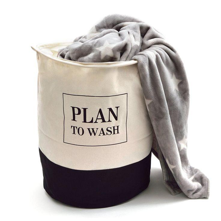 pink papaya w schesack plan to wash formstabiler baumwoll w schekorb f r ihre schmutzw sche. Black Bedroom Furniture Sets. Home Design Ideas