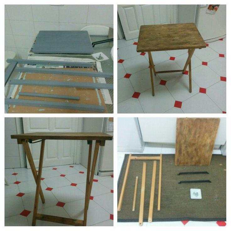 Mesa auxiliar con stencil-1