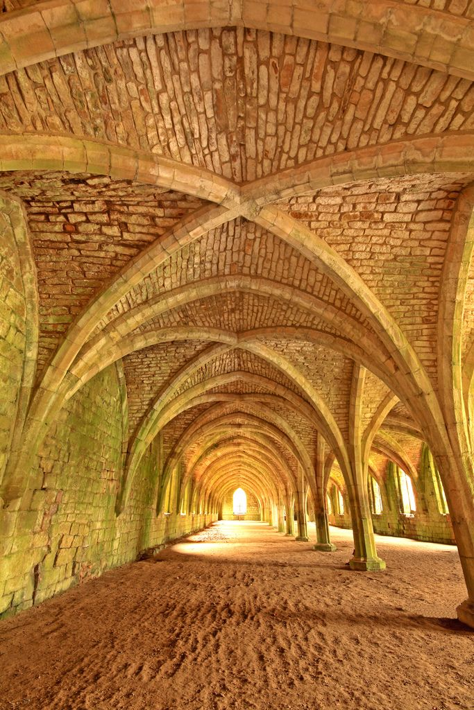 Fountains Abbey - North Yorkshire - England    Recharged my spirit here many times, my England.