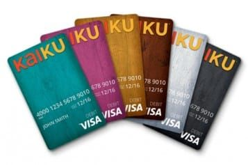 Sick of paying high fees to your bank? Ready to try a new way of budgeting for your favorite activities? It's time to try Kaiku, a prepaid Visa card that was made with tech-savvy Millennials in mind. There are no high fees, and the card works like a modern-day envelope for budgeting, complete with an app and PayPal integration. Do yourself a favor and give it a try!