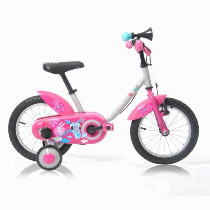ALICE Vélo enfant 14 pouces GIRA Girl B'TWIN