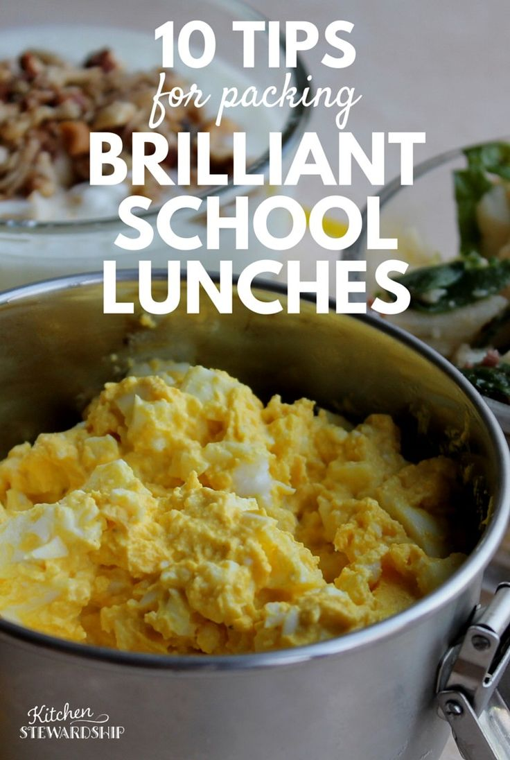 10 Tips to Pack Brilliant School Lunches and avoid wasting food. When you throw away food, you throw away money.