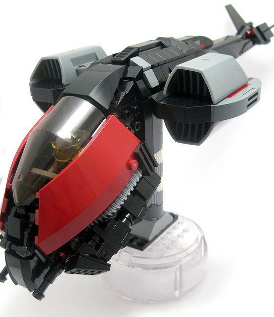 LEGO Dropship Stage 2.1, via Flickr.