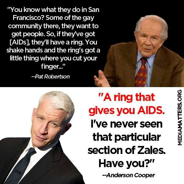 Pat Robertson and his merry band of fear-mongering bible thumpers