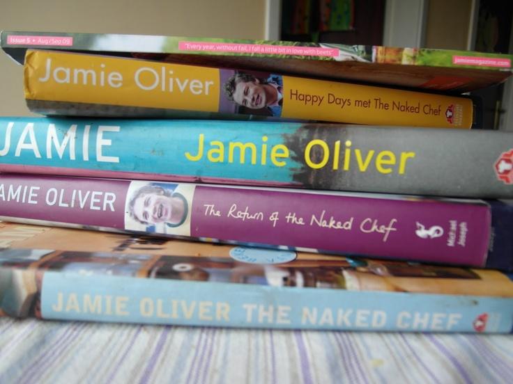 Alle kookboeken van Jamie Oliver!