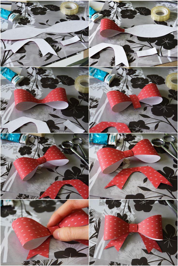 Jak zrobić kokardę? Instrukcja sklejania.