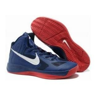 2012 Nike Zoom Hyperfuse Blue/Red Shoes Sport