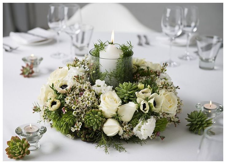 Nordic Table Wreath Ideas For Christmas Pinterest Wreaths Centerpieces And Flowers