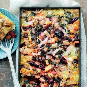 Recept - Ovenfrittata met wintergroenten - Allerhande