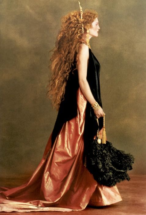 Julianne Moore by Rocco Laspata & Charles Decaro